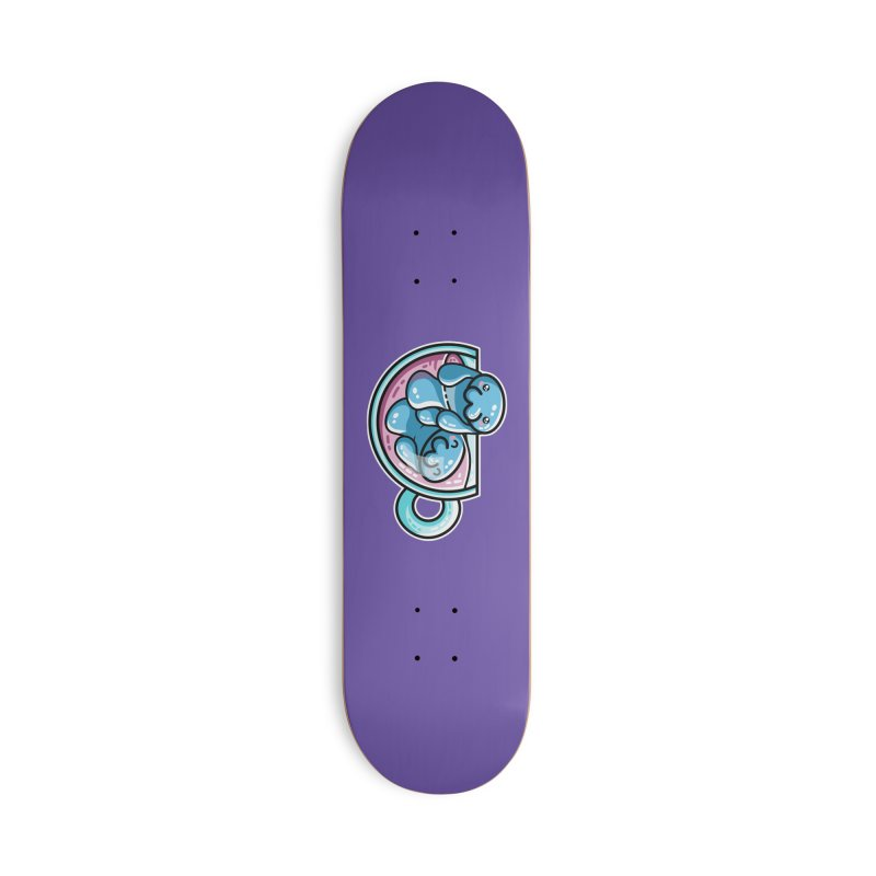 Mana-tea Accessories Deck Only Skateboard by Flaming Imp's Artist Shop