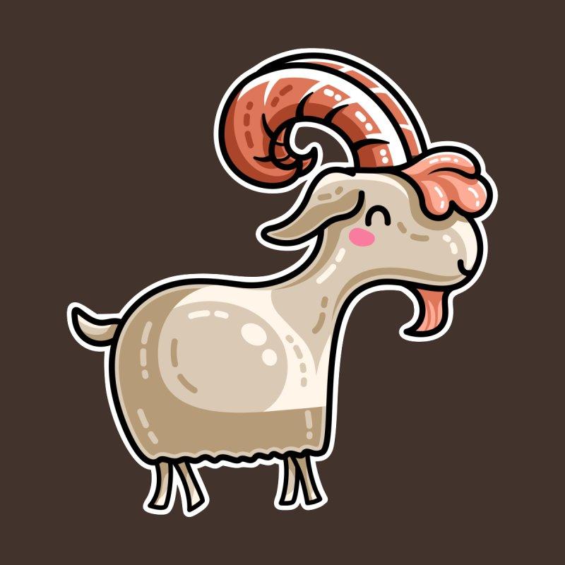 Kawaii Cute Goat by Flaming Imp's Artist Shop