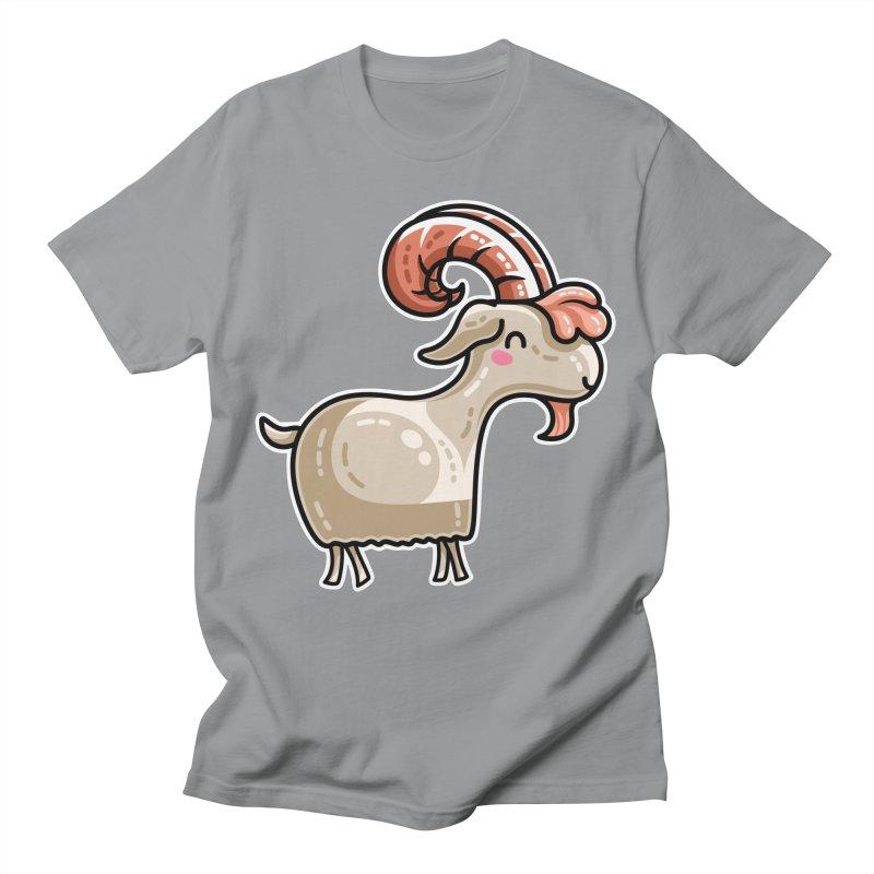 Kawaii Cute Goat Unisex T-Shirt by Flaming Imp's Artist Shop
