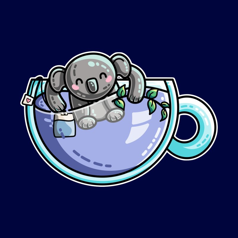 Quality Koala-Tea Pun by Flaming Imp's Artist Shop
