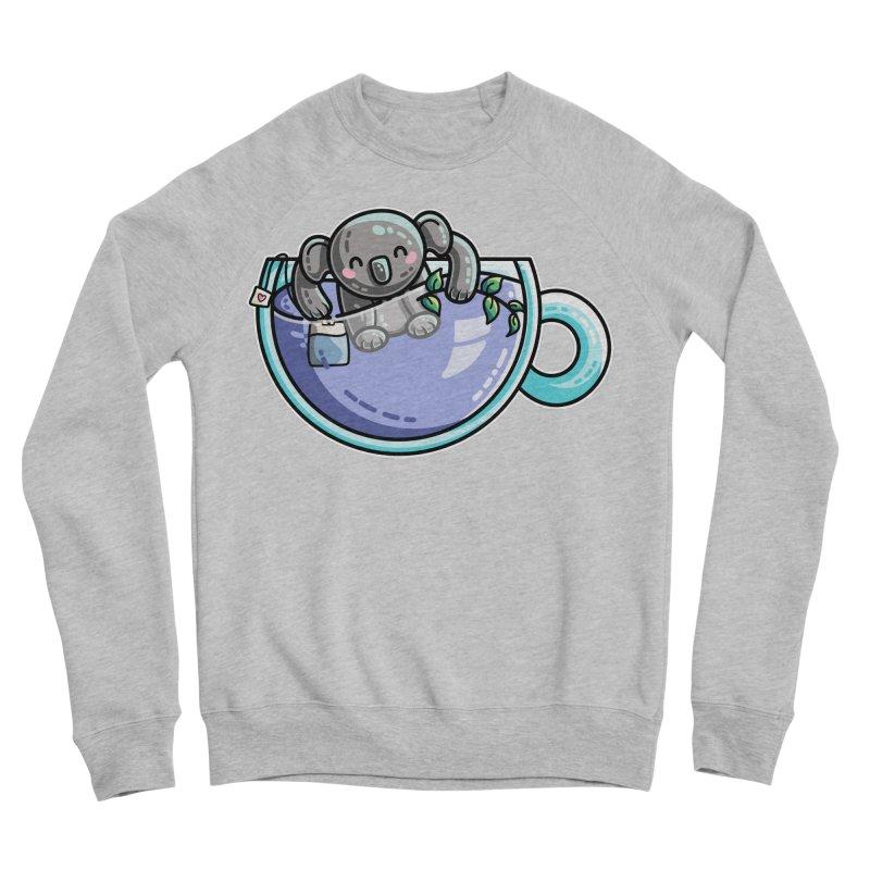 Quality Koala-Tea Pun Women's Sponge Fleece Sweatshirt by Flaming Imp's Artist Shop
