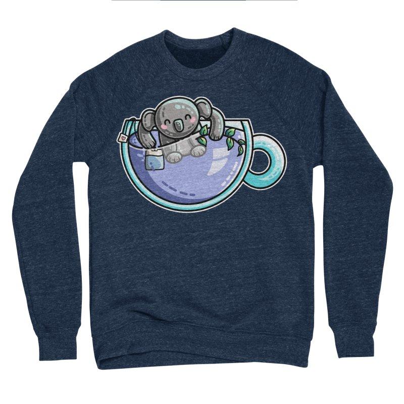 Quality Koala-Tea Pun Men's Sponge Fleece Sweatshirt by Flaming Imp's Artist Shop