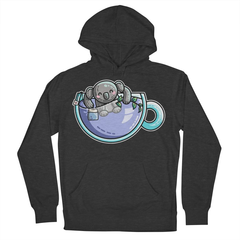 Quality Koala-Tea Pun Women's French Terry Pullover Hoody by Flaming Imp's Artist Shop
