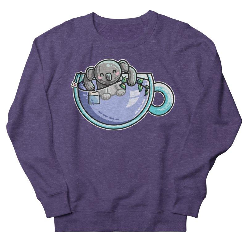 Quality Koala-Tea Pun Women's French Terry Sweatshirt by Flaming Imp's Artist Shop