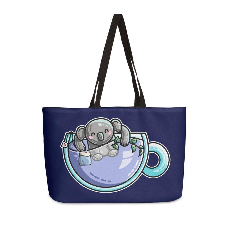Quality Koala-Tea Pun Accessories Weekender Bag Bag by Flaming Imp's Artist Shop