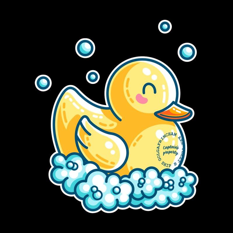 Ship B Captain's Rubber Duck Men's T-Shirt by Flaming Imp's Artist Shop