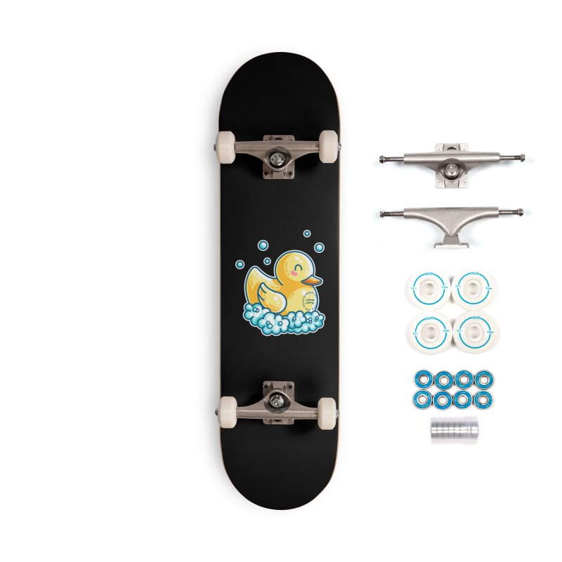 Ship B Captain's Rubber Duck Accessories Complete - Basic Skateboard by Flaming Imp's Artist Shop