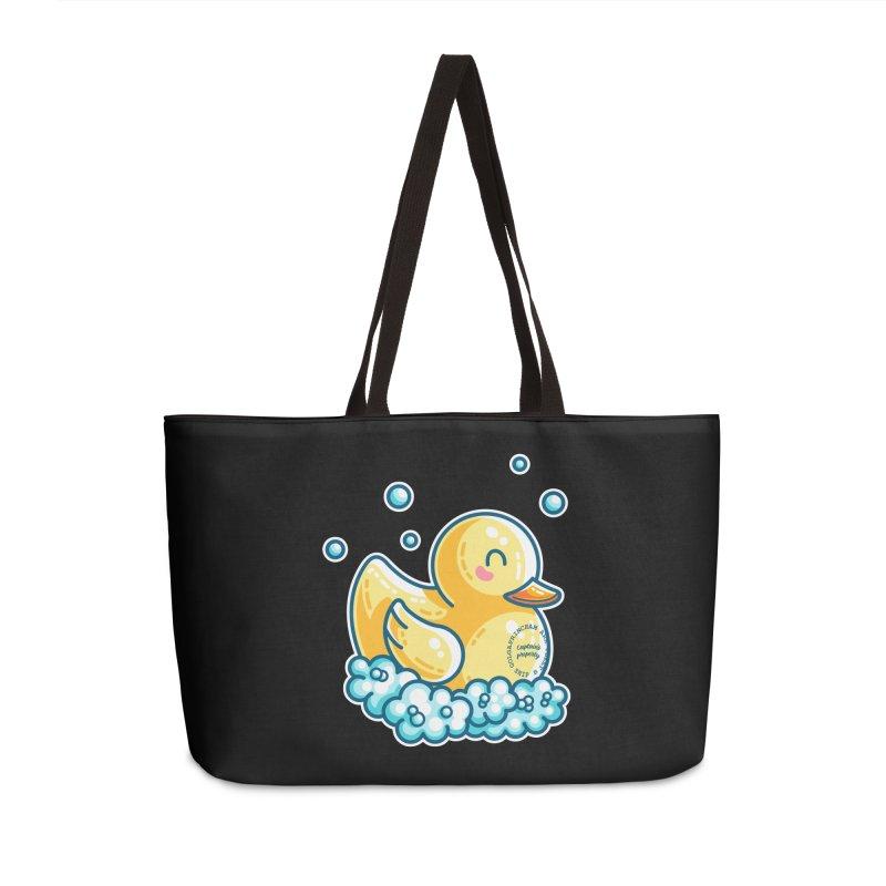 Ship B Captain's Rubber Duck Accessories Weekender Bag Bag by Flaming Imp's Artist Shop