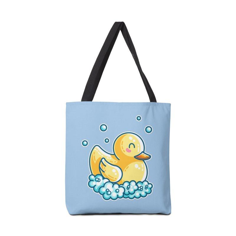 Kawaii Cute Bath Rubber Duck Accessories Tote Bag Bag by Flaming Imp's Artist Shop
