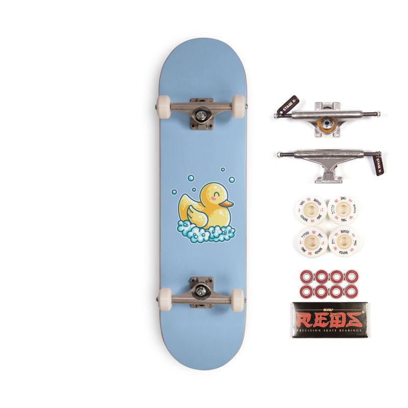 Kawaii Cute Bath Rubber Duck Accessories Complete - Pro Skateboard by Flaming Imp's Artist Shop