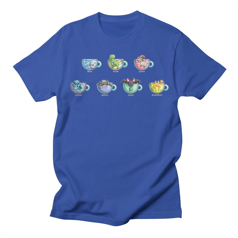 Kawaii Cute Tea Puns Collection Men's Regular T-Shirt by Flaming Imp's Artist Shop