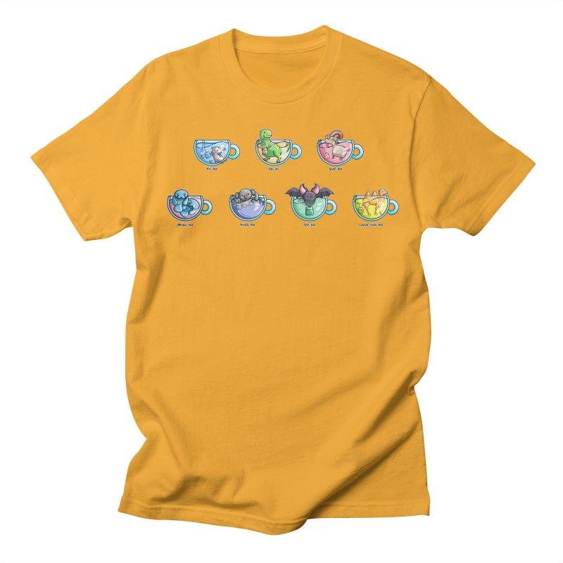 Kawaii Cute Tea Puns Collection Women's Regular Unisex T-Shirt by Flaming Imp's Artist Shop