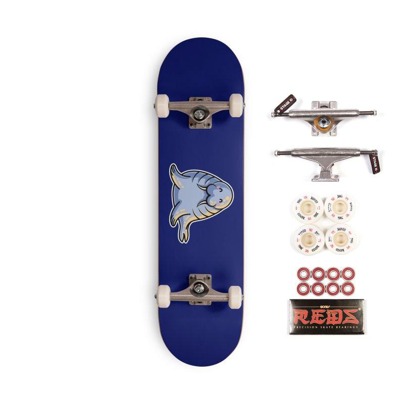 Kawaii Cute Walrus Accessories Complete - Pro Skateboard by Flaming Imp's Artist Shop