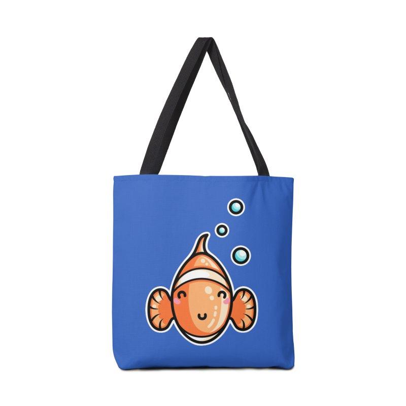Kawaii Cute Clownfish Accessories Tote Bag Bag by Flaming Imp's Artist Shop
