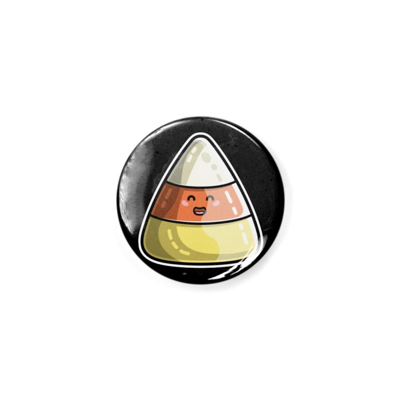 Kawaii Cute Candy Corn Accessories Button by Flaming Imp's Artist Shop