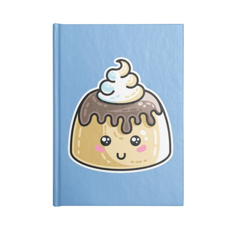 Kawaii Cute Dessert Accessories Blank Journal Notebook by Flaming Imp's Artist Shop