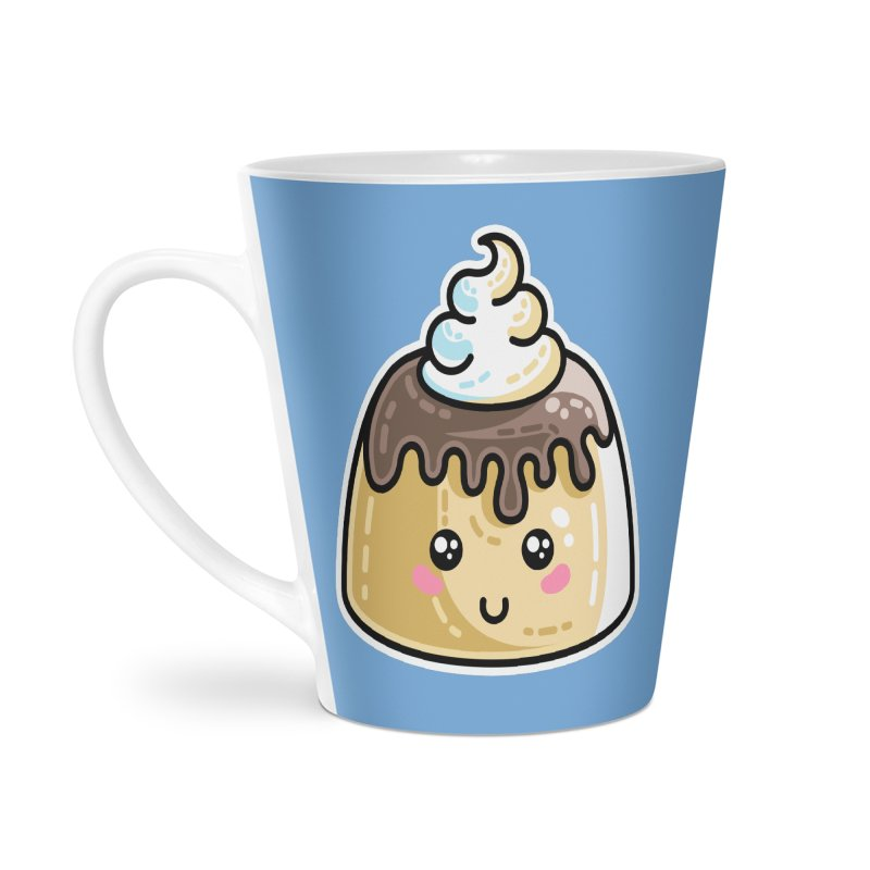 Kawaii Cute Dessert Accessories Latte Mug by Flaming Imp's Artist Shop
