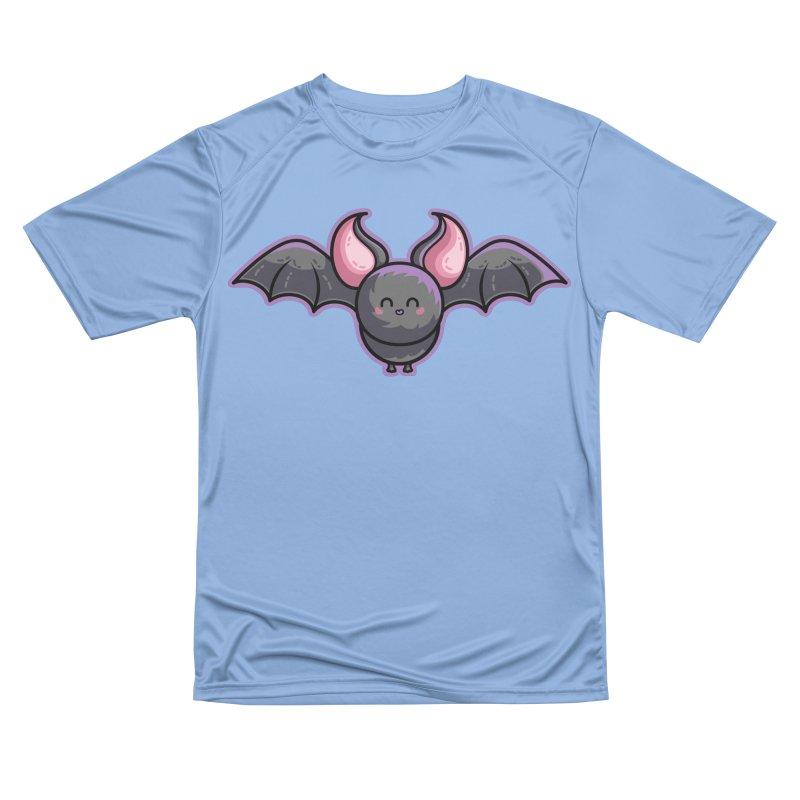 Kawaii Cute Bat Women's Performance Unisex T-Shirt by Flaming Imp's Artist Shop