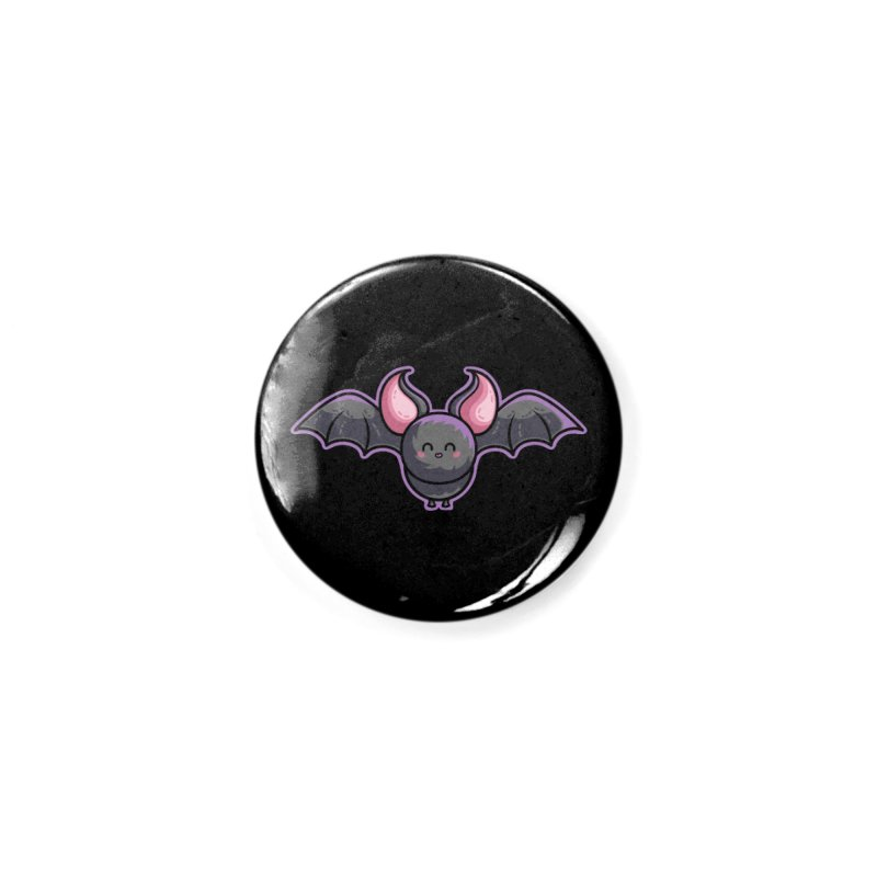 Kawaii Cute Bat Accessories Button by Flaming Imp's Artist Shop
