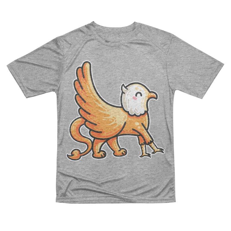 Kawaii Cute Griffin Women's Performance Unisex T-Shirt by Flaming Imp's Artist Shop