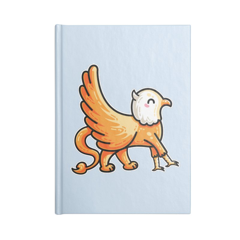 Kawaii Cute Griffin Accessories Blank Journal Notebook by Flaming Imp's Artist Shop