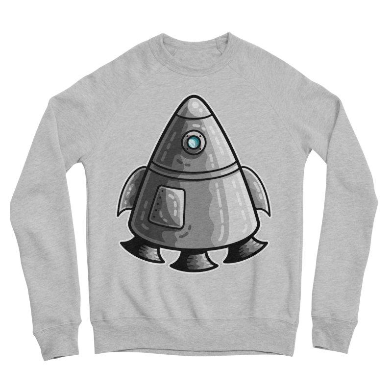 Space Capsule Men's Sponge Fleece Sweatshirt by Flaming Imp's Artist Shop