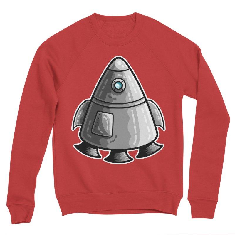 Space Capsule Women's Sponge Fleece Sweatshirt by Flaming Imp's Artist Shop