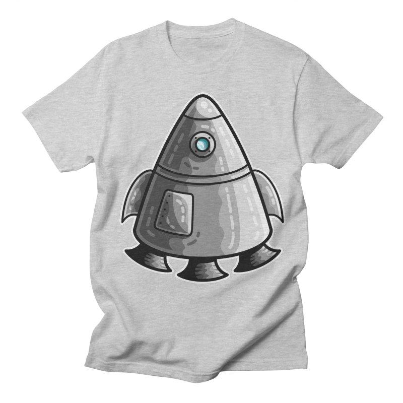 Space Capsule Men's Regular T-Shirt by Flaming Imp's Artist Shop