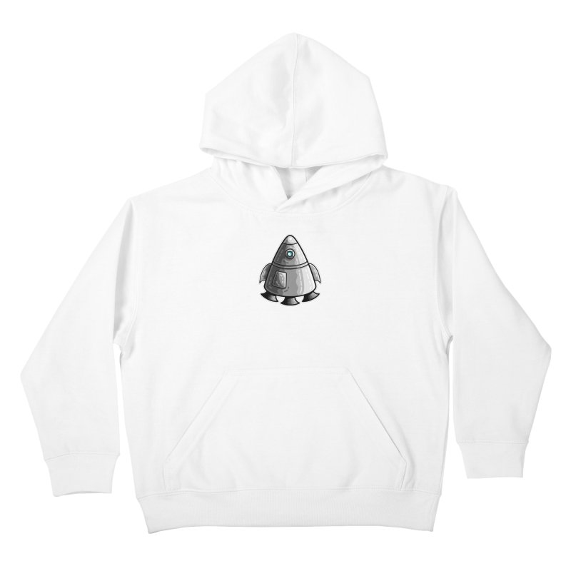 Space Capsule Kids Pullover Hoody by Flaming Imp's Artist Shop