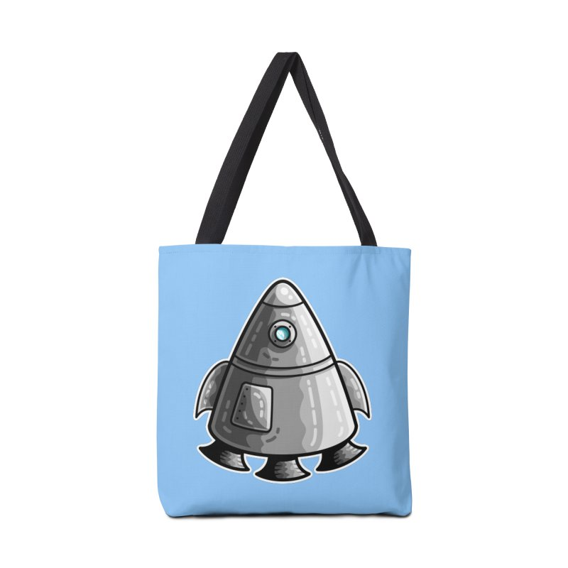 Space Capsule Accessories Bag by Flaming Imp's Artist Shop