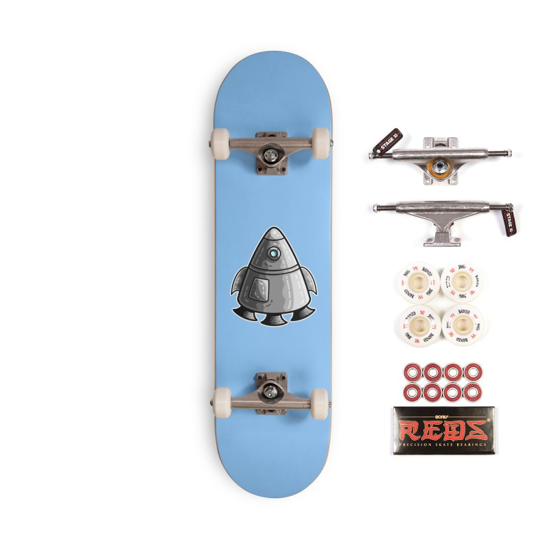 Space Capsule Accessories Complete - Pro Skateboard by Flaming Imp's Artist Shop