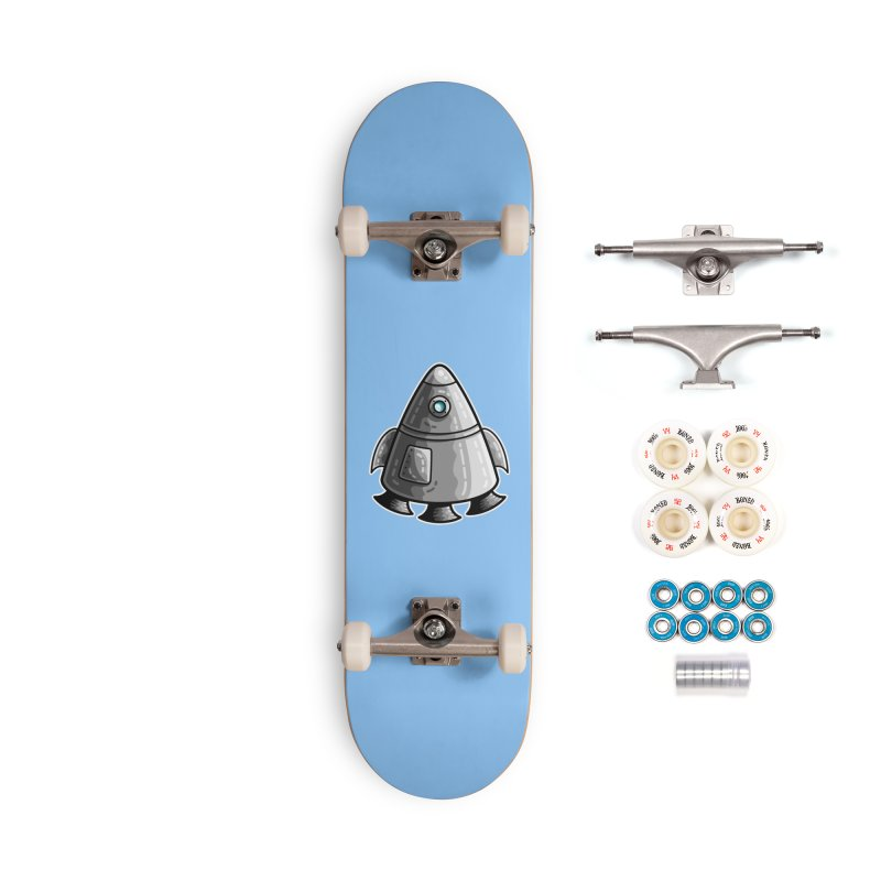 Space Capsule Accessories Complete - Premium Skateboard by Flaming Imp's Artist Shop