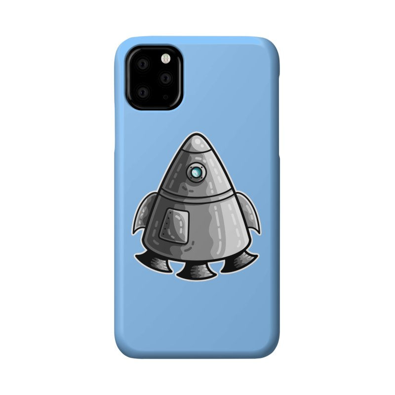 Space Capsule Accessories Phone Case by Flaming Imp's Artist Shop