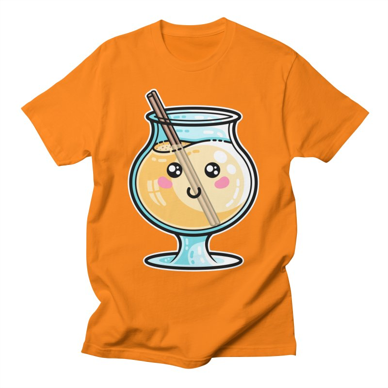 Kawaii Cute Eggnog Unisex T-Shirt by Flaming Imp's Artist Shop