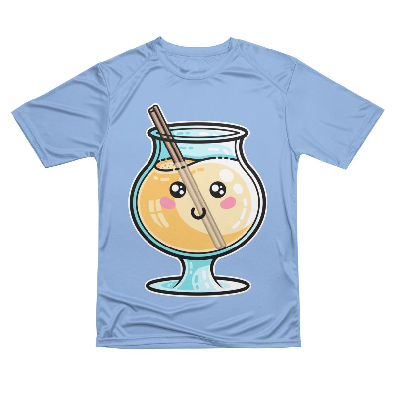 Kawaii Cute Eggnog Men's T-Shirt by Flaming Imp's Artist Shop