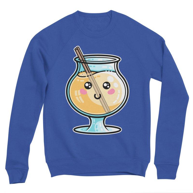 Kawaii Cute Eggnog Men's Sweatshirt by Flaming Imp's Artist Shop