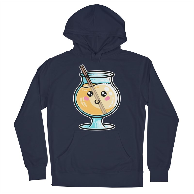 Kawaii Cute Eggnog Women's Pullover Hoody by Flaming Imp's Artist Shop