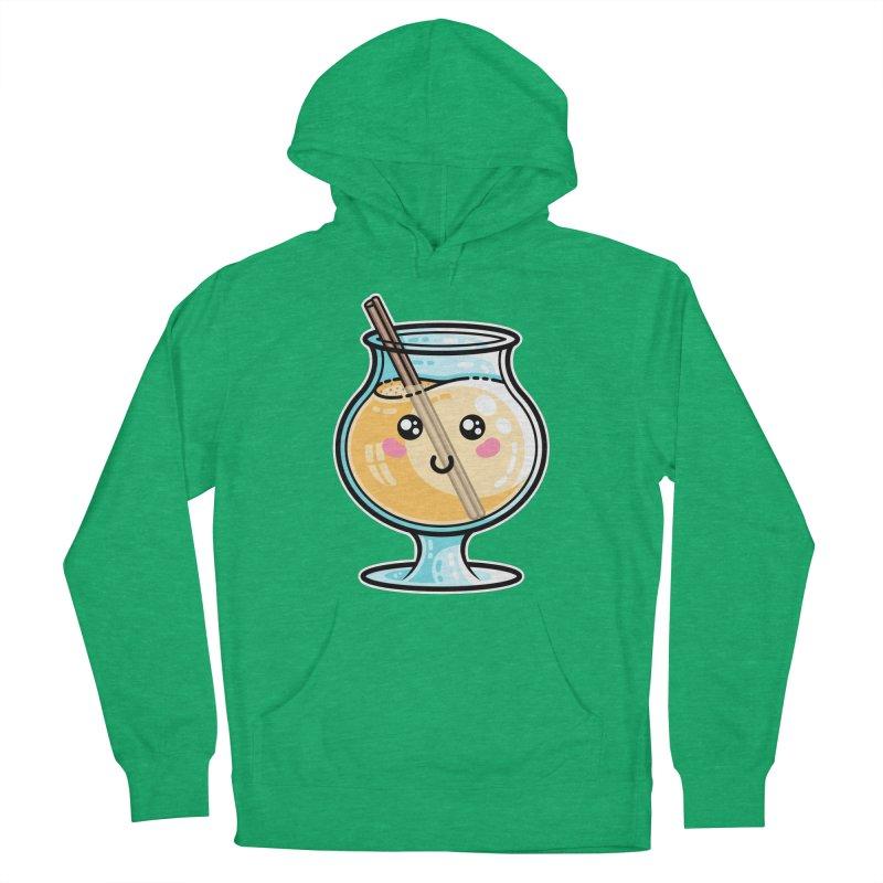 Kawaii Cute Eggnog Men's Pullover Hoody by Flaming Imp's Artist Shop