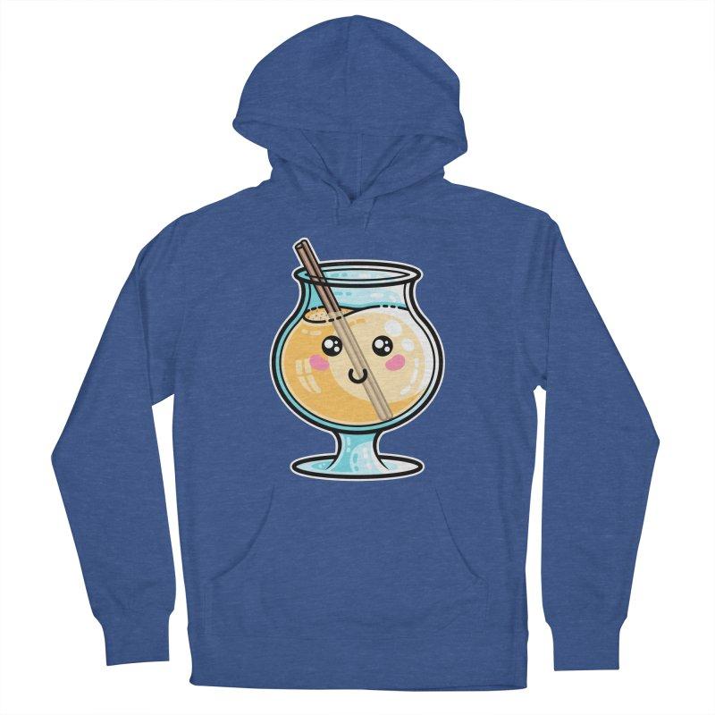 Kawaii Cute Eggnog Women's Pullover Hoody by Flaming Imp's Artist Shop