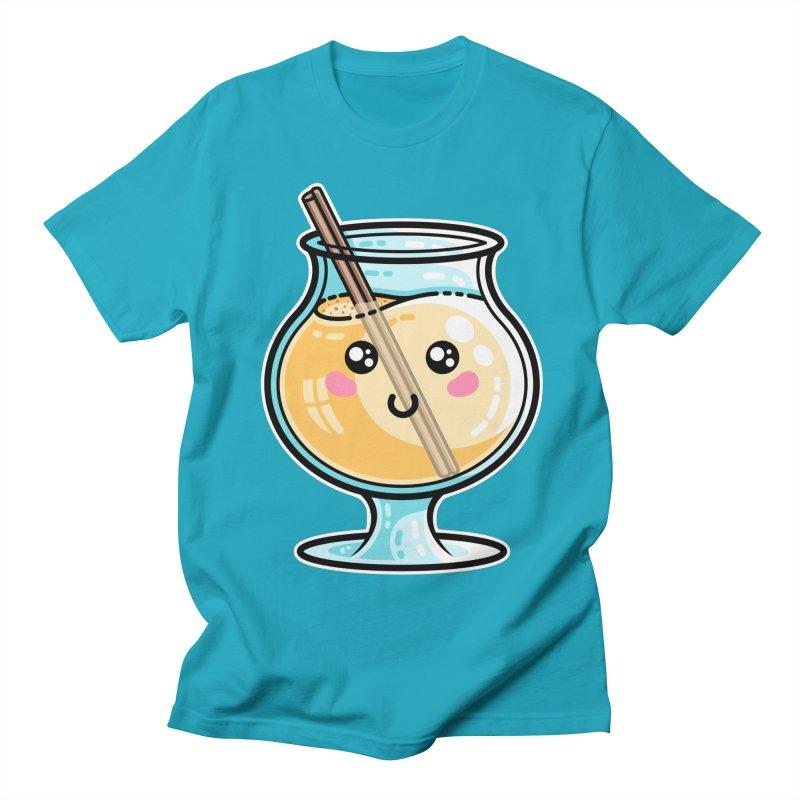 Kawaii Cute Eggnog Women's T-Shirt by Flaming Imp's Artist Shop