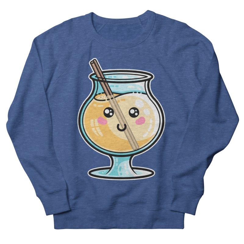 Kawaii Cute Eggnog Women's Sweatshirt by Flaming Imp's Artist Shop