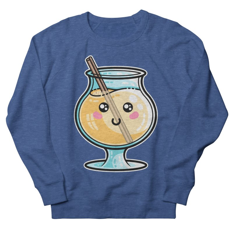 Kawaii Cute Eggnog Men's Sweatshirt by Flaming Imp's Artist Shop