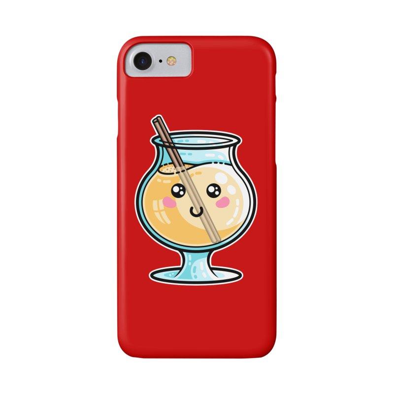 Kawaii Cute Eggnog Accessories Phone Case by Flaming Imp's Artist Shop