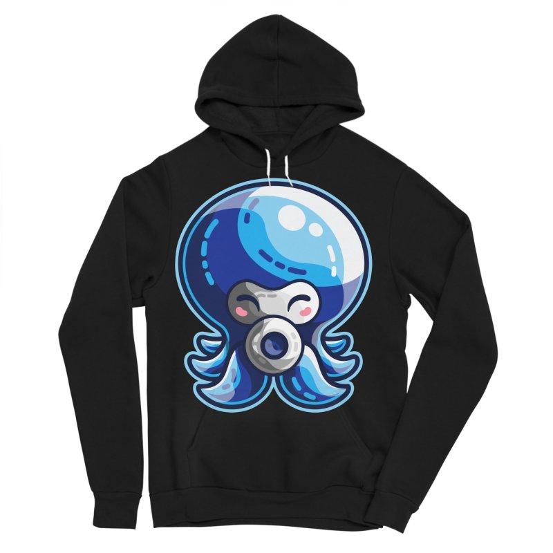 Cute Blue Octorok Men's Sponge Fleece Pullover Hoody by Flaming Imp's Artist Shop