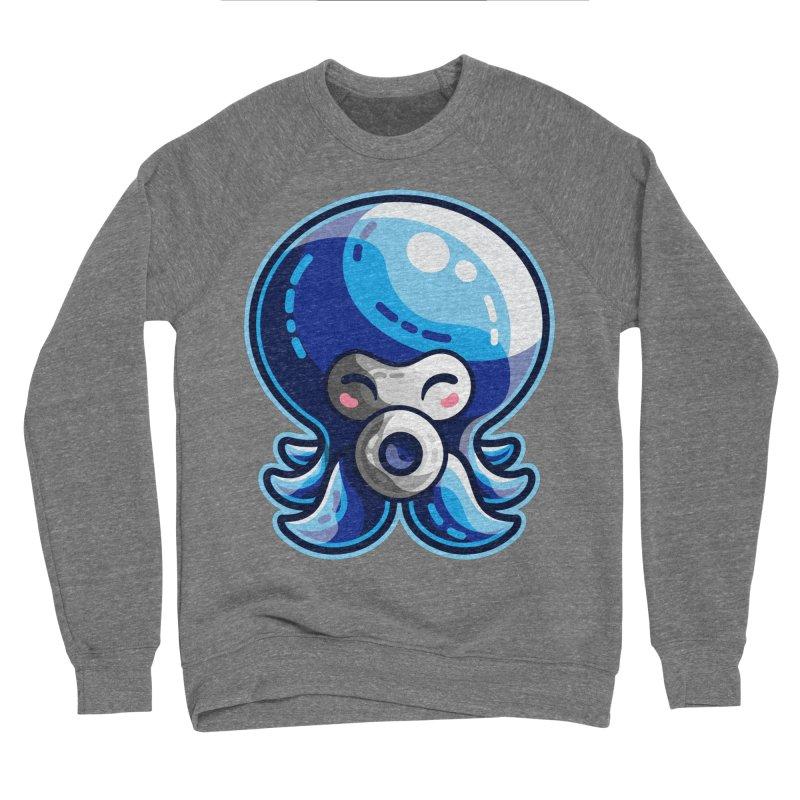 Cute Blue Octorok Women's Sponge Fleece Sweatshirt by Flaming Imp's Artist Shop