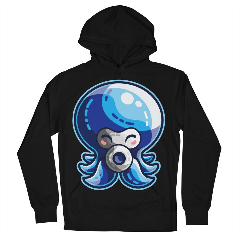 Cute Blue Octorok Men's French Terry Pullover Hoody by Flaming Imp's Artist Shop