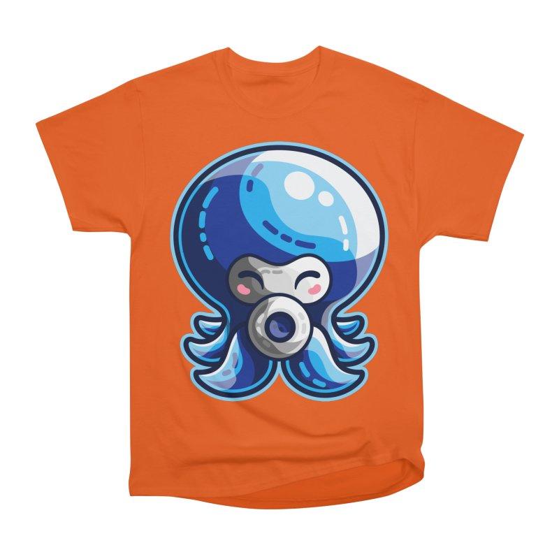 Cute Blue Octorok Men's Heavyweight T-Shirt by Flaming Imp's Artist Shop