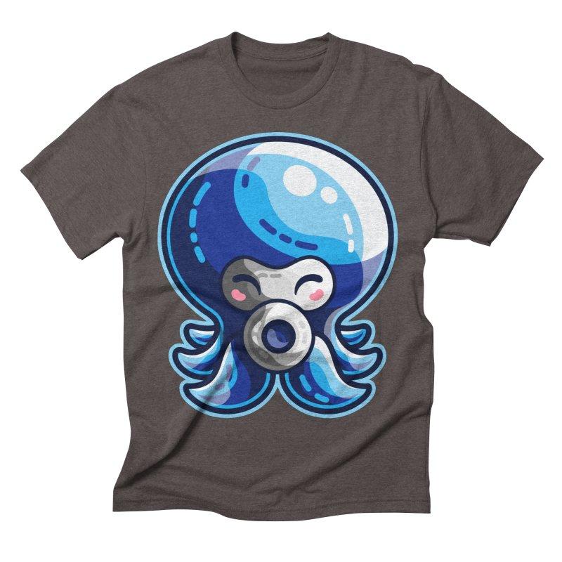 Cute Blue Octorok Men's Triblend T-Shirt by Flaming Imp's Artist Shop