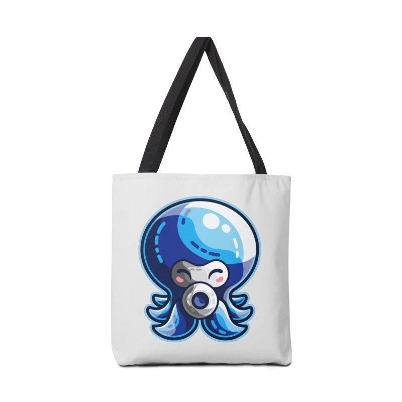 Cute Blue Octorok Accessories Tote Bag Bag by Flaming Imp's Artist Shop
