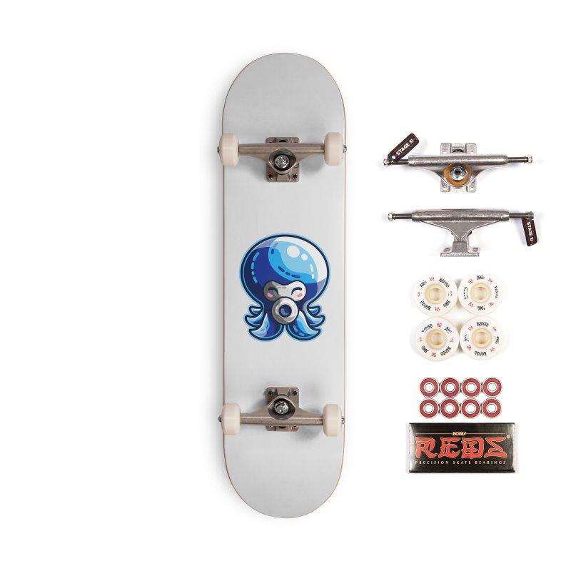 Cute Blue Octorok Accessories Complete - Pro Skateboard by Flaming Imp's Artist Shop